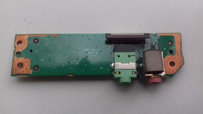 Placa Controladora do Headset e Microfone - Itautec Infoway W7630