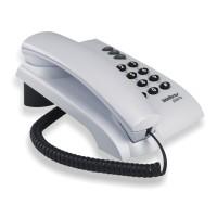 Telefone com Fio Pleno com Chaves - Cinza Ártico - Intelbrás