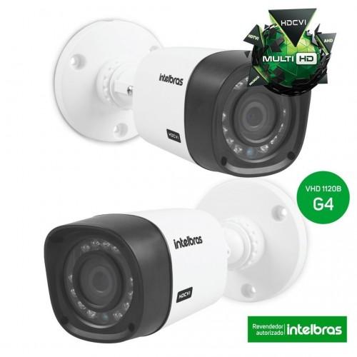 Camera Intelbrás Infra Multi-HD VHD 1120 B IR20 Lente 2,6 mm G4