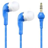 Fone de Ouvido M5-5A Emborrachado Intra-auricular - Azul