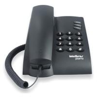 Telefone com Fio Pleno com Chaves - Preto - Intelbrás