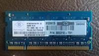 Memória HP (Nanya) 256 Mb - DDR 2 - PC2 5300S-555-C2