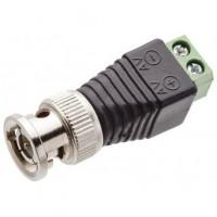 Conector BNC Macho com Borne FS 497