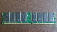 Memória Mitsung 512 Mb - DDR - PC 3200 - 400 Mhz - CL3